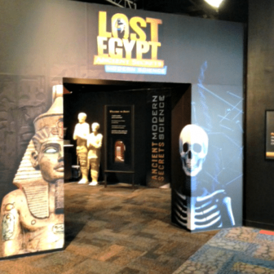 AZ Science Center- Lost Egypt Exhibit and Giveaway
