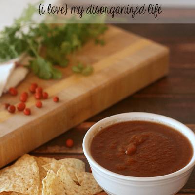 Spicy Homemade Salsa Recipe