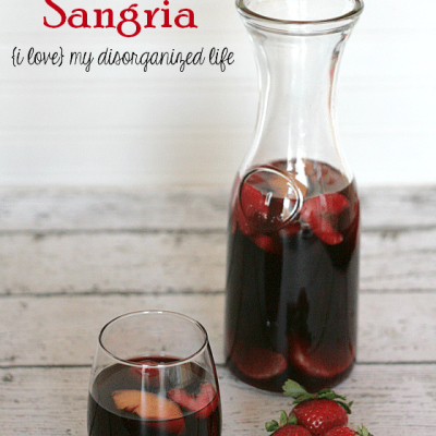 Sweet Red Sangria