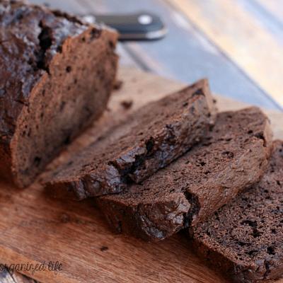 Sour Cream Chocolate Loaf Cake