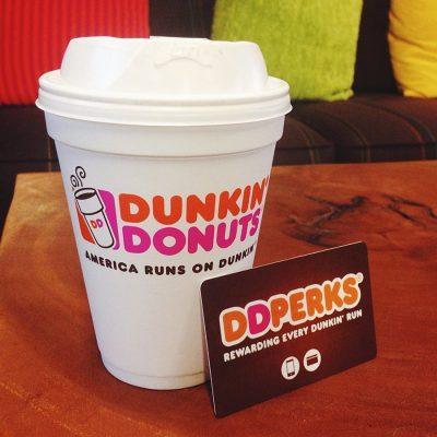 Holiday Gift Giving with Dunkin' Donuts
