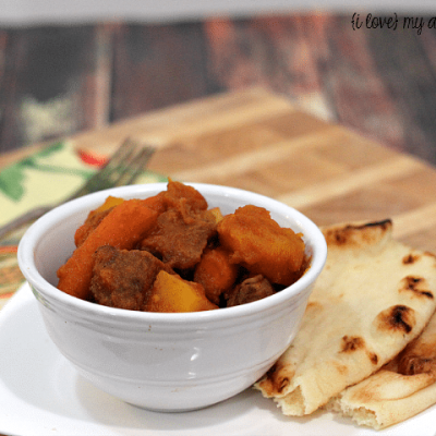 Curried Slow Cooker Beef Stew