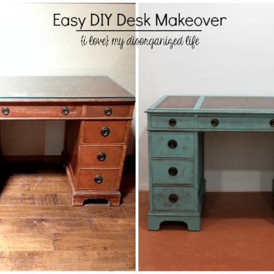 Easy DIY Desk Makeover