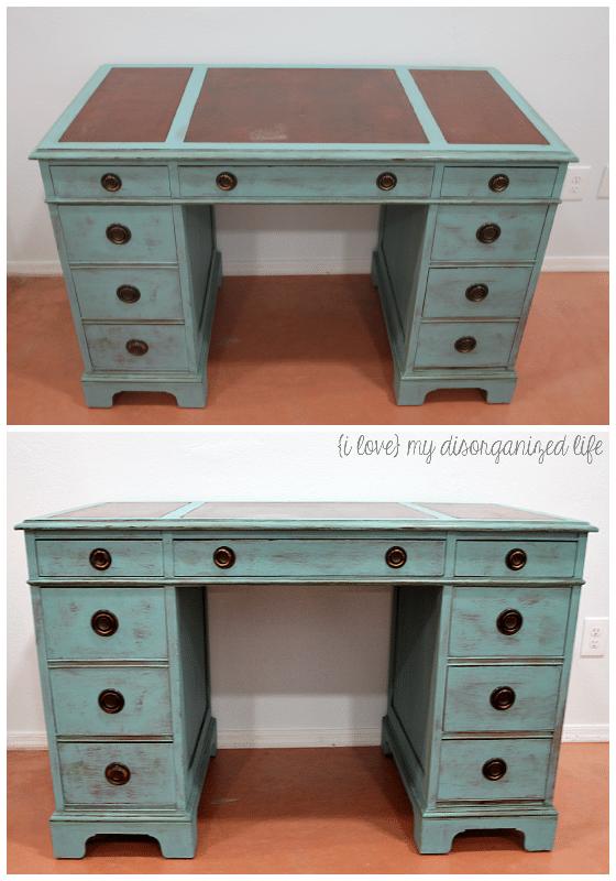 Easy DIY Desk Makeover | {i love} my disorganized life