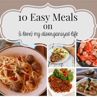 Easy Meals for Busy Days