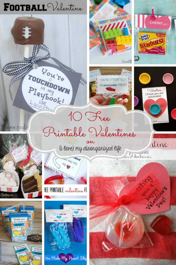 These free printable Valentines are so adorable, you're going to want to download them all!