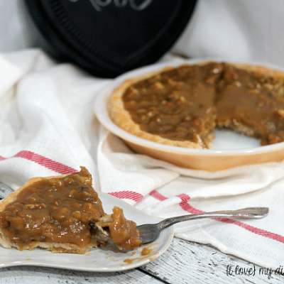 Caramel Nut Pie Recipe