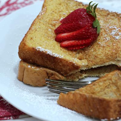 Easy Vanilla French Toast: International Delight Recipes