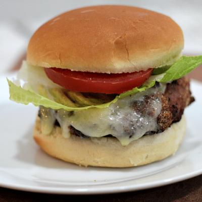 Bacon Cheddar Jalapeño Turkey Burgers