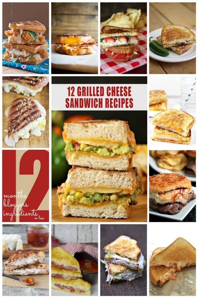 12 Grilled Cheese Sandwich Recipes