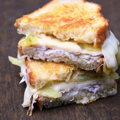 Cowhorn Pepper Grilled Cheese