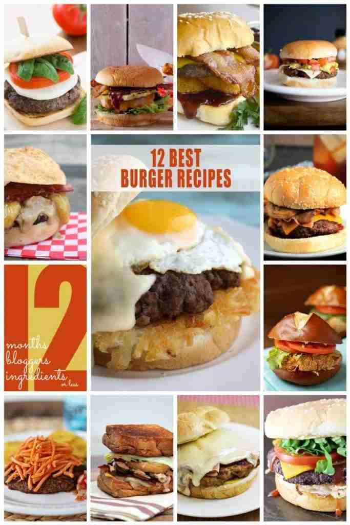 12 Burgers/12 Bloggers   {i love} my disorganized life