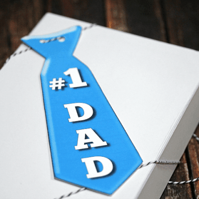Father's Day Tie Printable
