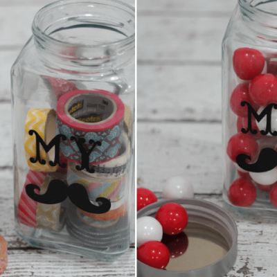 DIY Stache Jar