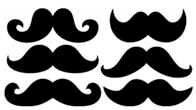 moustache-set