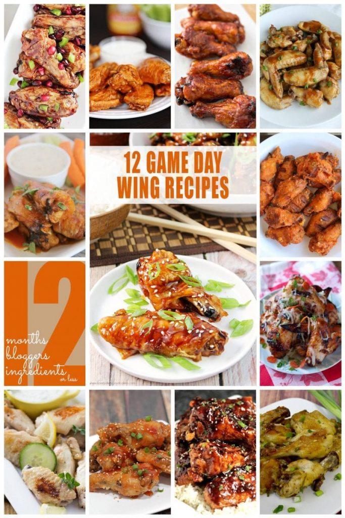 12 Fantastic Game Day Chicken Wings Recipes, including Sweet and Sour Chicken Wings