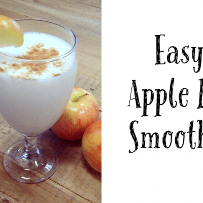 Easy Apple Pie Smoothie