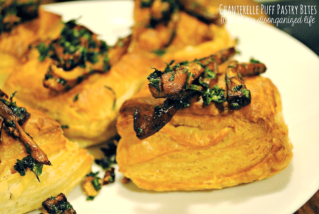 These chanterelle puff pastry bites are an elegant - and impressive looking - holiday appetizer that doesn't take a lot of effort.