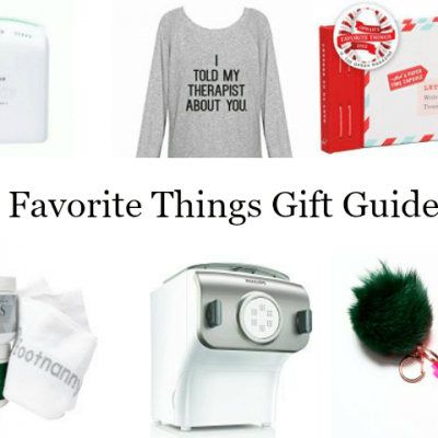 Favorite Things Gift Guide