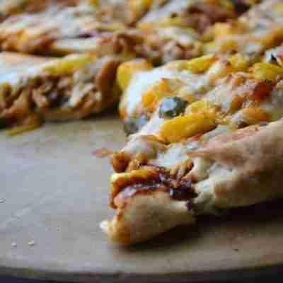 Hawaiian BBQ Chicken Pizza