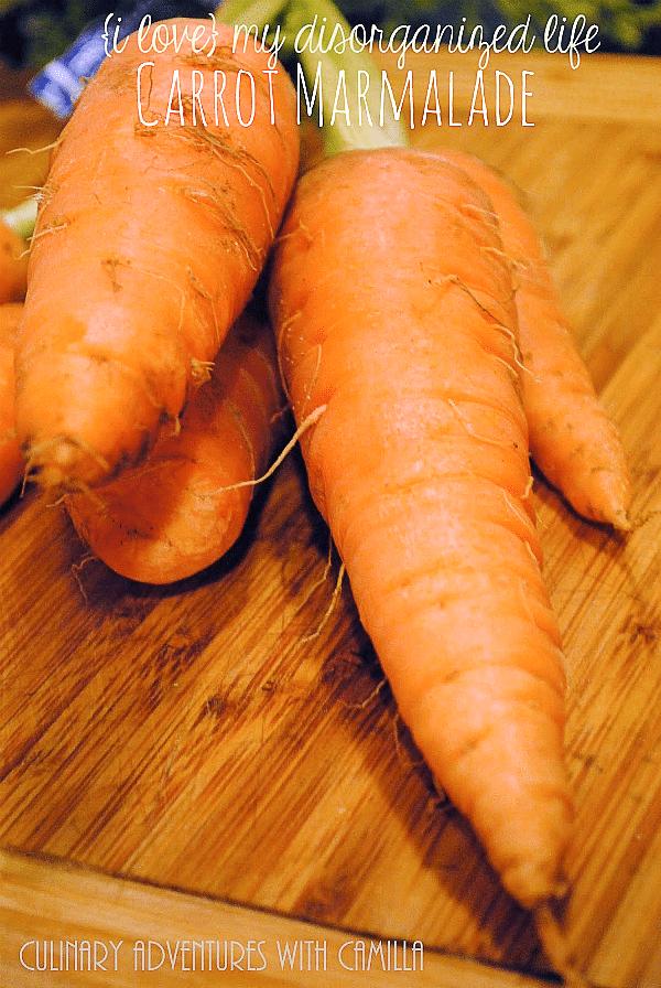 Carrot Marmalade   {i love} my disorganized life