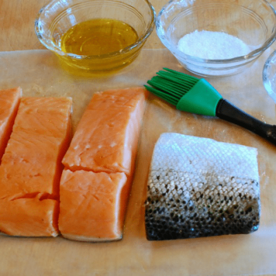 Perfect Roast Salmon, every time