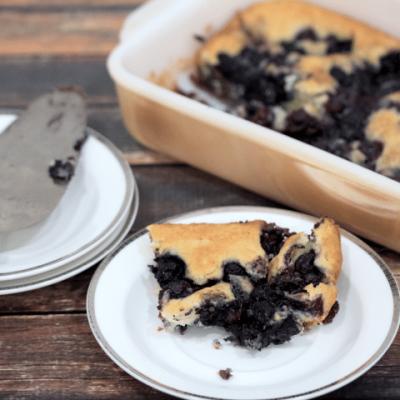 Easy Blueberry Cobbler Recipe