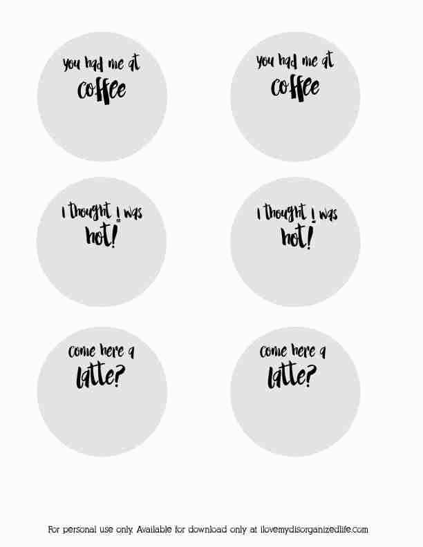 Add some fun to your coffee cup with these coffee pick up lines!