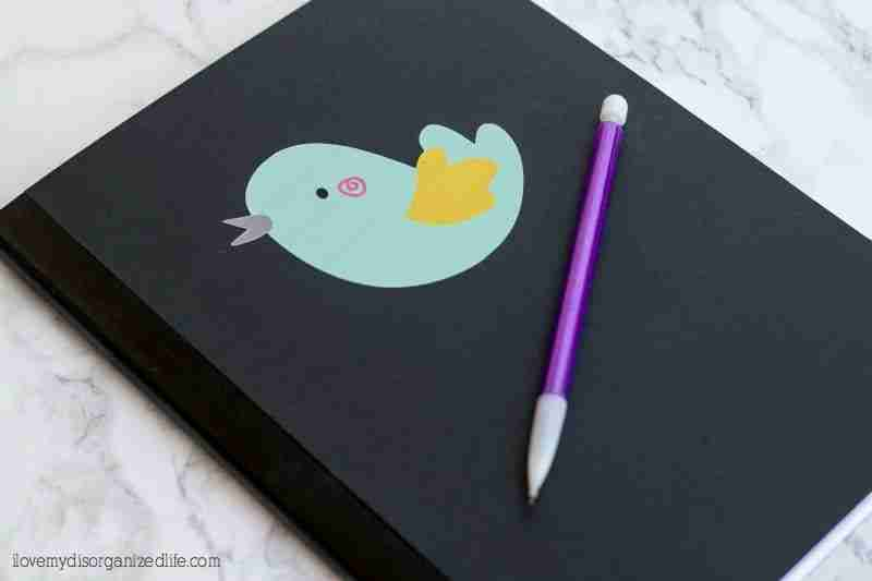 Creating a custom journal using your Cricut Explore Air 2 is fun and easy!