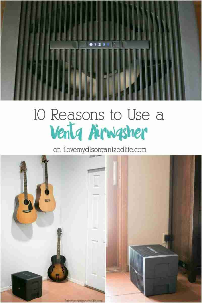 The VentaAirwasher humidifieris beneficial to you and your family in ways you may have never guessed. I'm sharing 10 reasons why you should use one.