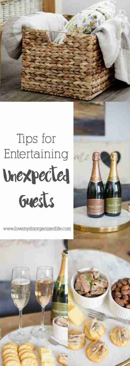These entertaining tips and tricks make having unexpected guests a breeze without the stress, leaving you more time to enjoy your company!