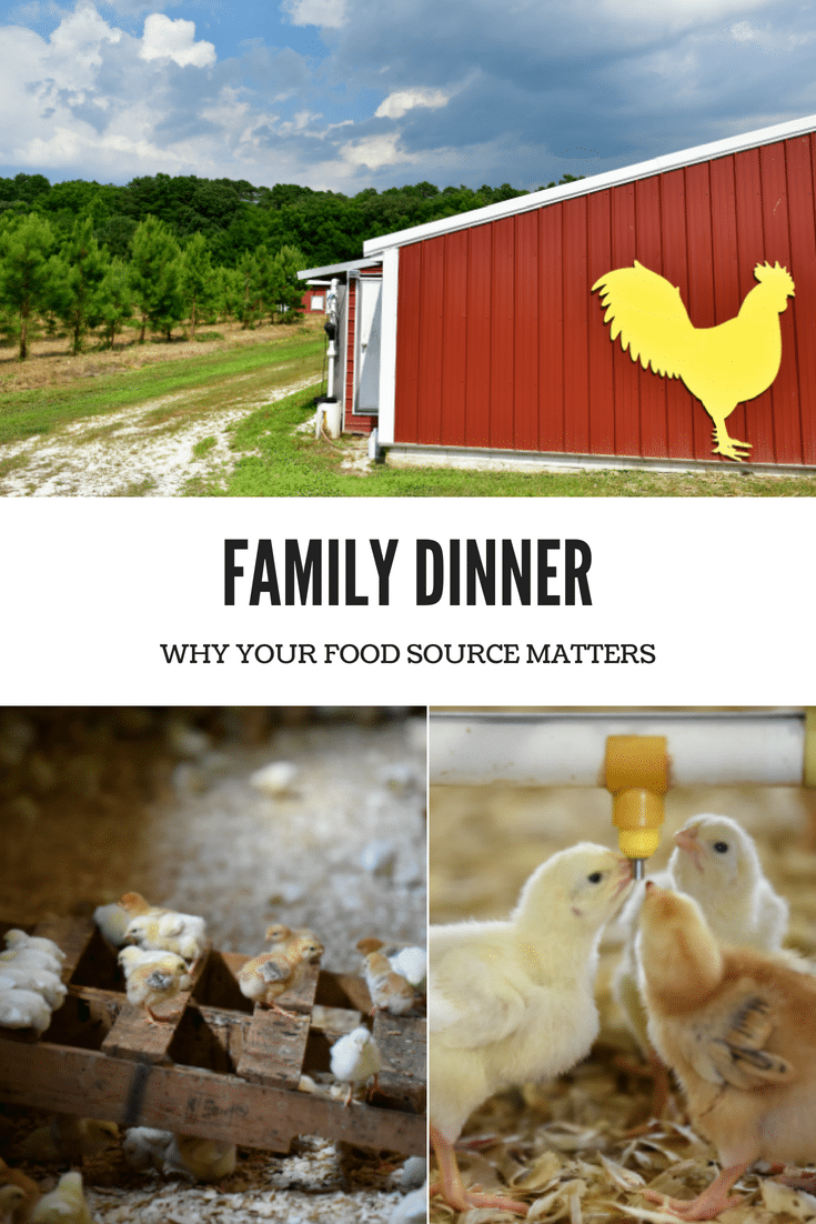 Family dinner is for gathering, connecting, and for parents to feel good about providing a wholesome family meal from a food source that matters. #familydinner #familymeal