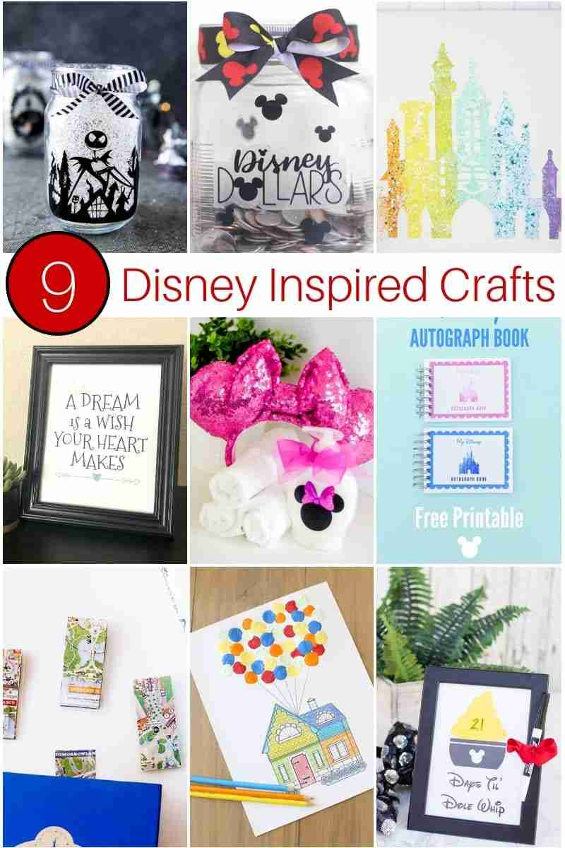 Disney inspired crafts similar to Dole Whip countdown printable