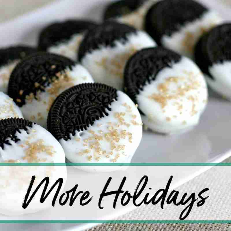 Easy Holiday Recipes More Holidays