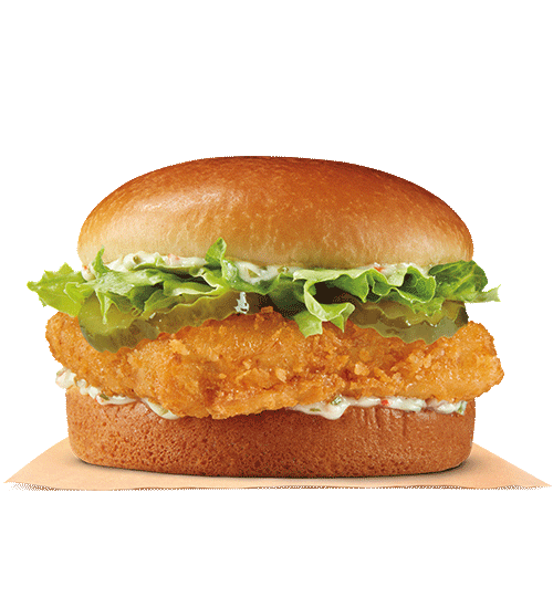 Burger King fish sandwiches