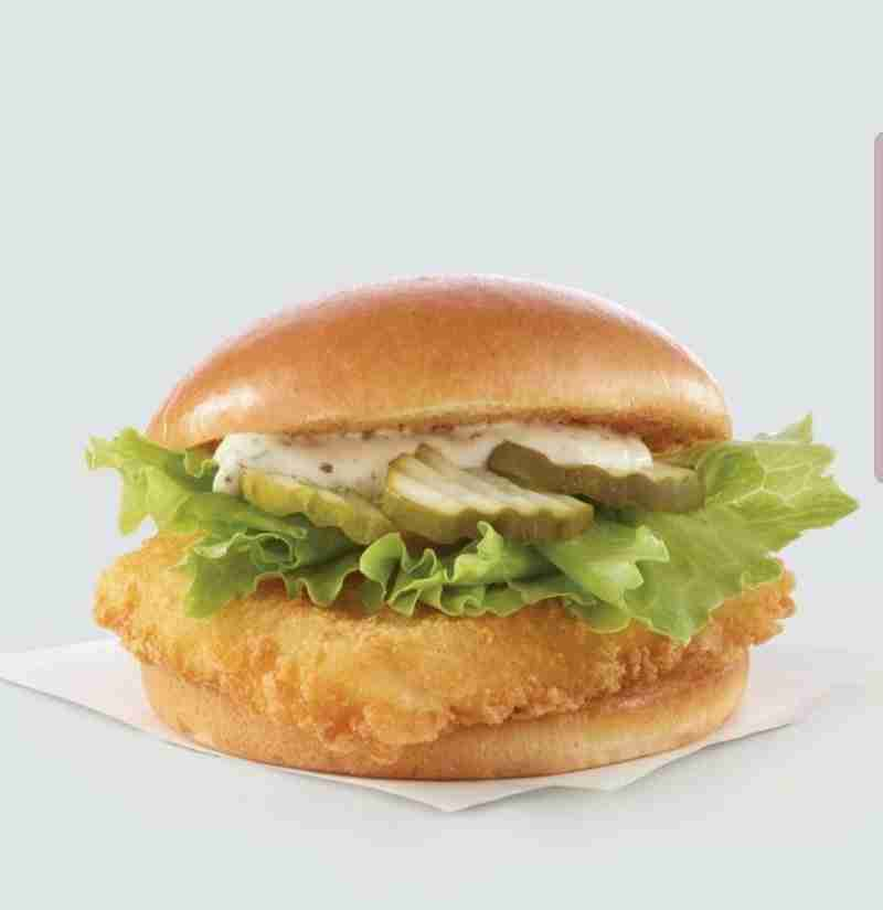Wendy's fish sandwiches