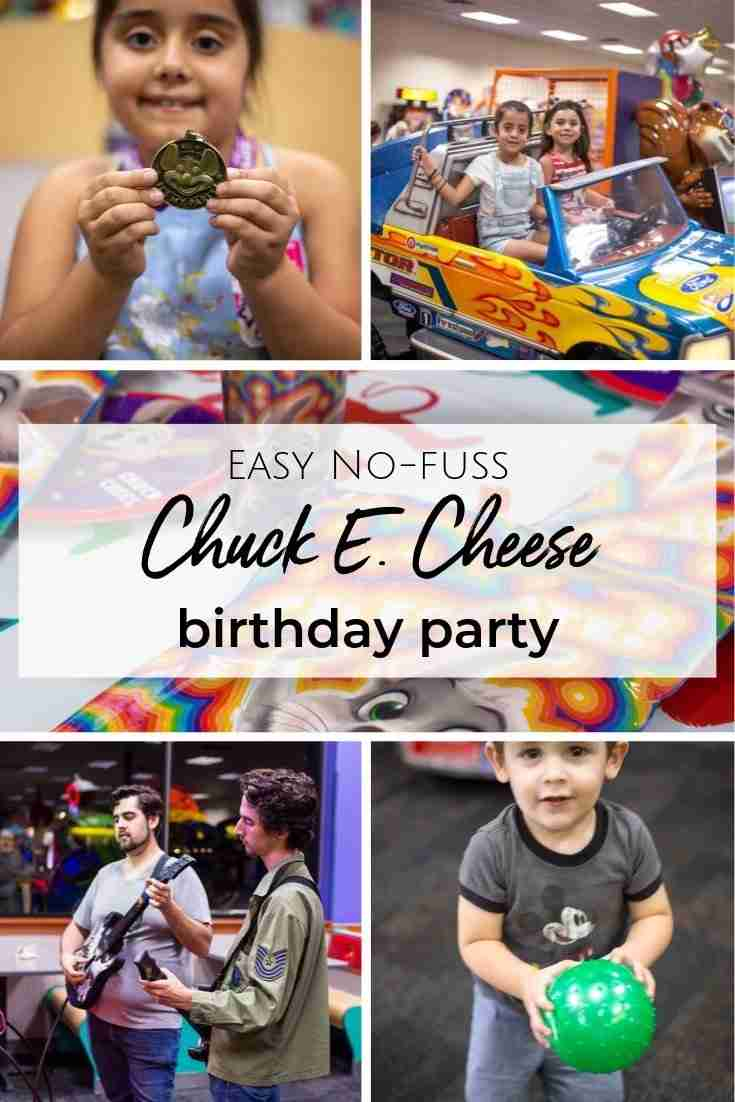Hosting a birthday party can be more stressful than you realize. That's why Chuck E. Cheese has made planning a party for your child stress-free! #ad
