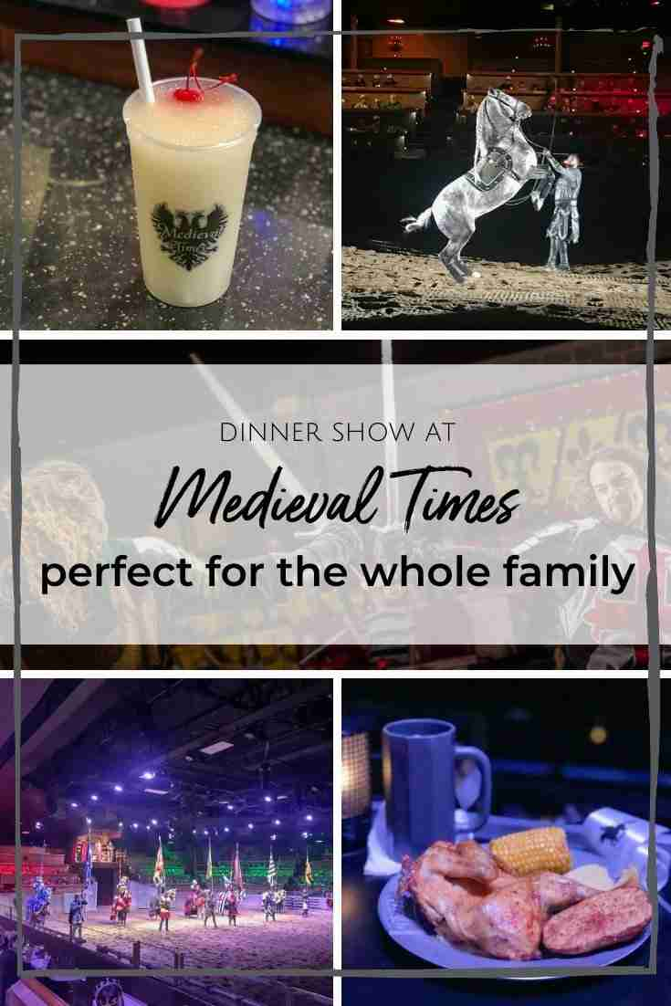 If you're the type who loves dinner and a show, then you'll love this! Medieval Times dinner show is the ultimate dining experience, featuring epic battles and a four-course feast.