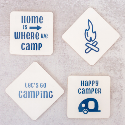 3 Easy Camping Projects Using Your Cricut Joy